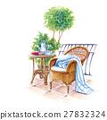 พักผ่อนบนระเบียงสวน 27832324