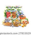 fish, market, marchais 27833029