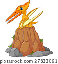 Cartoon funny pterodactyl 27833091