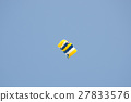 gestures of skydiving parachute extreme sport  27833576