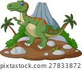 Cartoon Cute tyrannosaurus cartoon 27833872