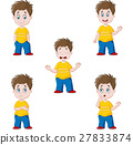 Little boy in various expression 27833874