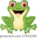 青蛙 卡通 向量 27836289