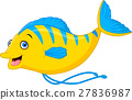 fish cartoon 27836987