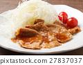 生薑燒肉 家常菜 葷菜 27837037