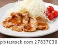 生薑燒肉 家常菜 葷菜 27837039
