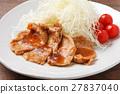 生薑燒肉 家常菜 葷菜 27837040