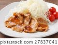 生薑燒肉 家常菜 葷菜 27837041