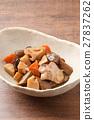 燉雞 燉 開水焯過的食物 27837262