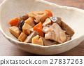 燉雞 燉 開水焯過的食物 27837263