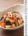 燉雞 燉 開水焯過的食物 27837266