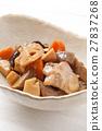 燉雞 燉 開水焯過的食物 27837268