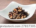 羊栖菜 羊樨菜 深色可食用海苔 27837305