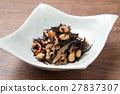 羊栖菜 羊樨菜 深色可食用海苔 27837307
