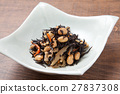 深色可食用海苔 燉 開水焯過的食物 27837308