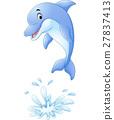 海豚 矢量 矢量图 27837413