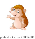 Cute hedgehog cartoon 27837601