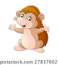 Cute hedgehog cartoon 27837602