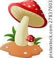 Mushroom cartoon 27837603