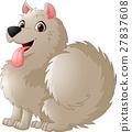 Cute puppy cartoon 27837608