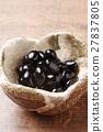 黑豆 煮豆子 年夜飯 27837805