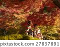 享受秋葉和外國女性的日本女性 27837891