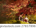 享受秋葉和外國女性的日本女性 27837896