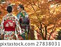 享受秋葉和外國女性的日本女性 27838031