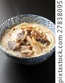 udon, mushroom, noodles 27838095