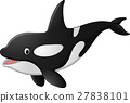 whale,cartoon,vector 27838101