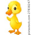 Cute duck cartoon 27838247