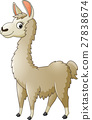 Llama cartoon 27838674