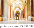 Fairytale corridor of Monserrate Palace in Sintra. 27838882