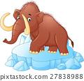mammoth cartoon 27838988