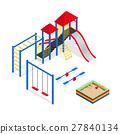 playground, park, slide 27840134