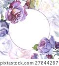 watercolor, flower, rose 27844297