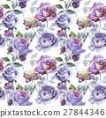 watercolor flower rose 27844346