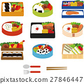 bento, box lunch, japanese box lunch 27846447