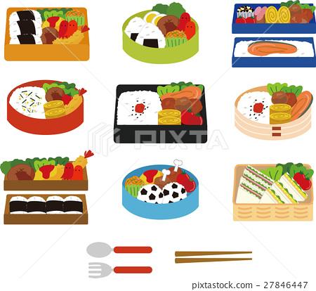 便當 午餐盒 日式便當 27846447