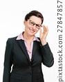 business, female, glasses 27847857
