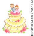 wedding, cake, bridal 27854782
