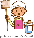主婦 家庭主婦 一個年輕成年女性 27855746
