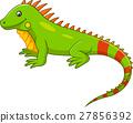 Cute iguana cartoon 27856392