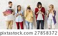 Diversity Students Friends Entertainment Music Concept 27858372