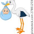 황새, 밑그림, 새 27861259