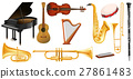 Different types of classical music instruments 27861483