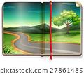 scene, book, countryside 27861485