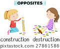 Flashcard for opposites 27861586