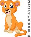 사자, 벡터, 만화 27861662