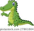 cartoon, alligator, animal 27861664